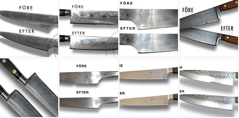 skärpa keramiska knivar